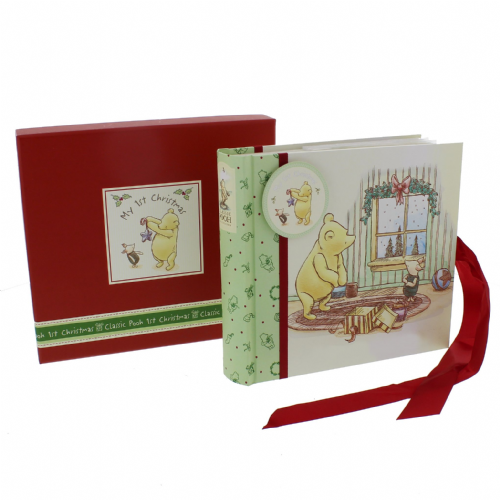 My 1st Christmas Photo Album - Disney Winnie The Pooh Baby's First Christmas Special Photo Album